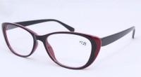 Готовые очки New Vision 0601 (красно - чёрные) 53#17-138